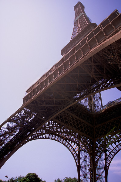 Eiffel Tower from base - Paris, France