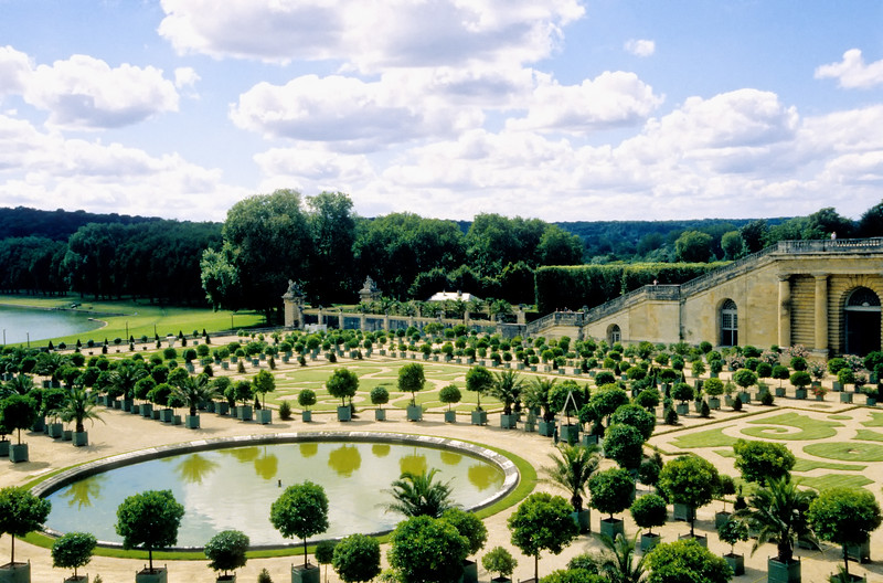 Water Parterre - Palace of Versailles - Paris, France