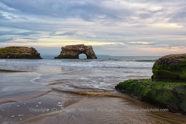 Natural Bridges Before Winter Sunset