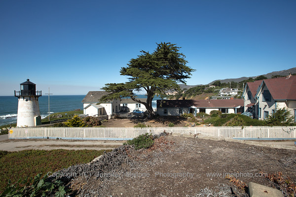 Point Montara Lighthouse and Hostel from Adjacent Picnic Area - 1