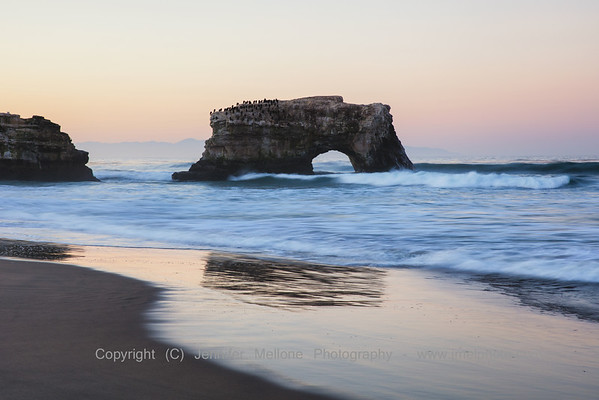 Natural Bridges Reflection Sunrise