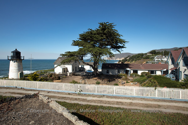 Point Montara Lighthouse and Hostel from Adjacent Picnic Area - 2