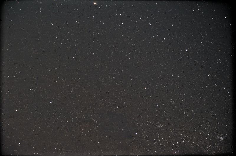 Part of the Milky Way Galaxy, 30x 10s frames stacked using Deep Sky Stacker at ISO 6400 (5 minutes of exposure) using the Nikkor 24-70mm at 70mm.
