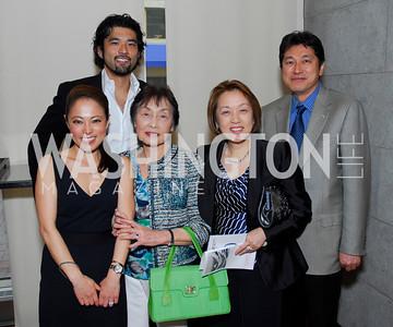 Shigeko Bork, Noritaka Takezawa, Yuko Kono, Sachiko Kuno, Ryuji Ueno, Fundraiser for Japan at City Zen, April 18, 2011, Kyle Samperton