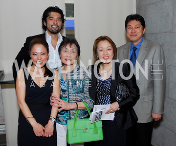 Shigeko Bork, Noritaka Takezawa, Yuko Kono, Sachiko Kuno, Ryuji Ueno, Fundraiser for Japan at City Zen, April 18, 2011, Kyle Samperton