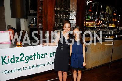 Shigeko Bork, Skye Bork, Fundraiser for Japan at City Zen, April 18, 2011, Kyle Samperton