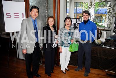 Ryuji Ueno, Sachiko Kuno, Yuka Kono, Willi Singleton, Fundraiser for Japan at City Zen, April 18, 2011, Kyle Samperton