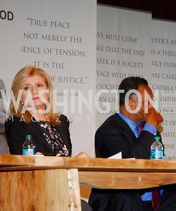 Arianna Huffington,Jesse Jackson,GM's Table of Brotherhood at D.C.Convention Center ,August 26.2011,Kyle Samperton