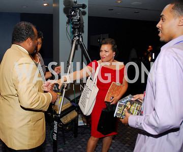 Roland Martin,Debra Lee,GM's Table of Brotherhood at D.C.Convention Center ,August 26.2011,Kyle Samperton