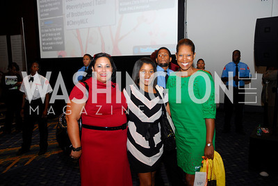 Julia Borgos,Courtney Rhodes,Nyree Wright,GM's Table of Brotherhood at D.C.Convention Center ,August 26.2011,Kyle Samperton