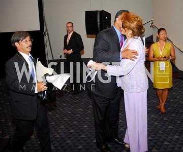 Jesse Jackson, Janet Langhart Cohen,GM's Table of Brotherhood at D.C.Convention Center ,August 26.2011,Kyle Samperton