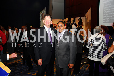 Chris Perry,Kevin Williams,GM's Table of Brotherhood at D.C.Convention Center ,August 26.2011,Kyle Samperton