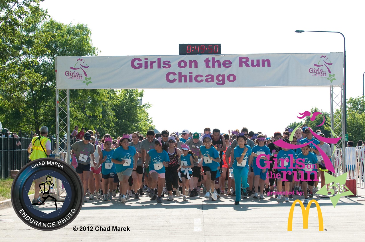 Spring 2012 Girls on the Run Chicago 5K