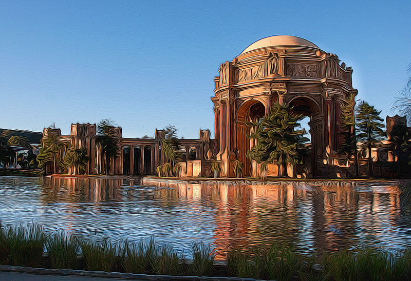 Impressions of the City: Palace of Fine Arts