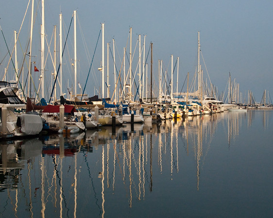 Calm in the Harbor