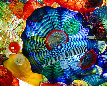 Sunlit Chihuly Glass II