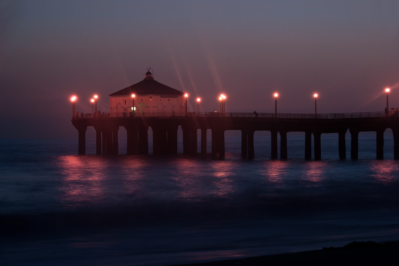 Dusk In Manhattan Beach I