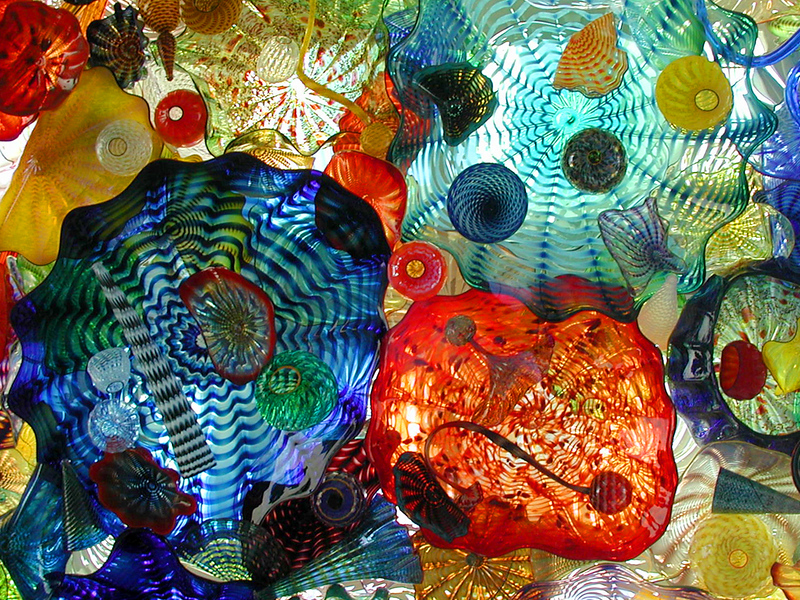 Sunlit Chihuly Glass I