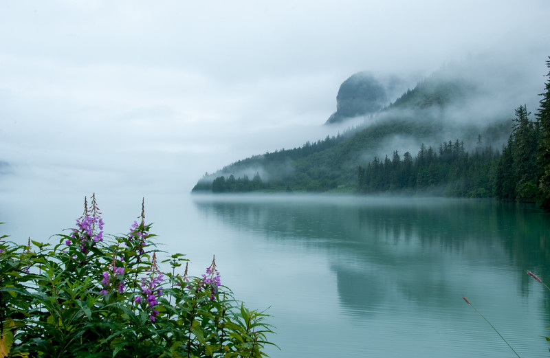 Fog Over Lake Chilkoot I