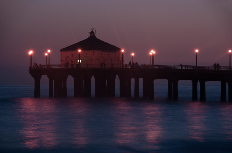 Dusk In Manhattan Beach II
