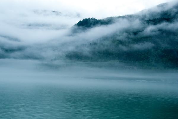 Fog Over Lake Chilkoot