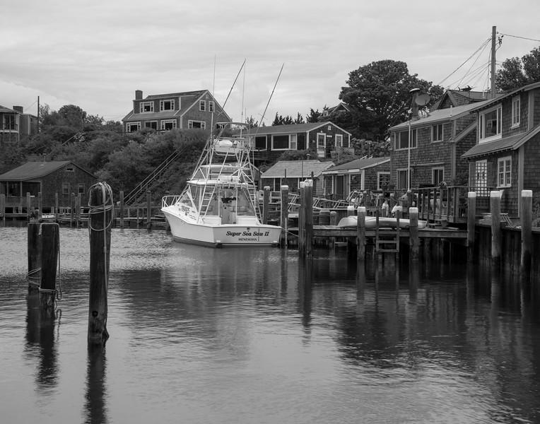 Menemsha Harbor II B&W