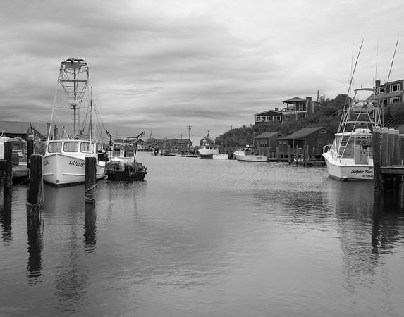 Menemsha Harbor I B&W