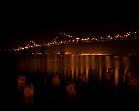 Bay Bridge Reflection