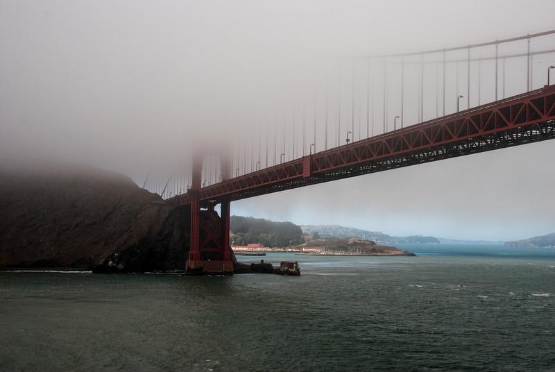 Golden Gate, Fogged In I