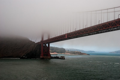 Golden Gate, Fogged In I