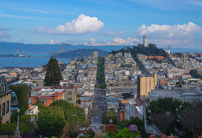 Impressions of the City: Telegraph Hill