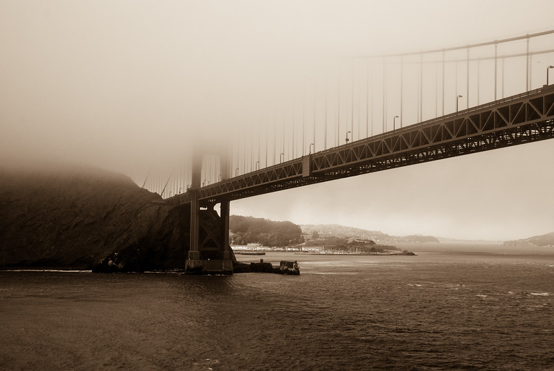 Golden Gate, Fogged In II
