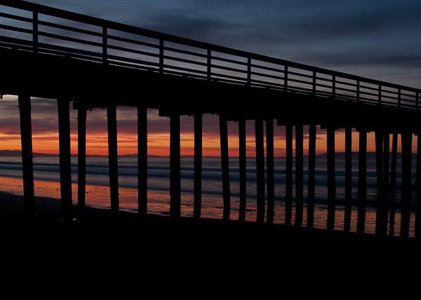 Sunrise in Avila Beach