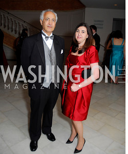 Samir Shakir Mahmood Saumaida'ie, Houda Nanoo, Georgetown University Diplomatic Ball, April 8, 2011, Kyle Samperton