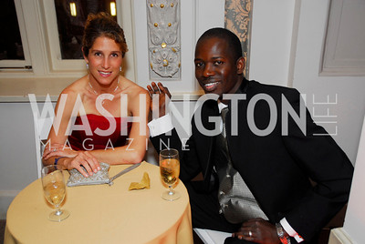 Kristin Kane, Lamine Kane, Georgetown University Diplomatic Ball, April 8, 2011, Kyle Samperton