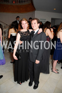 Liz Slattery, Michael Fischer, Georgetown University Diplomatic Ball, April 8, 2011, Kyle Samperton