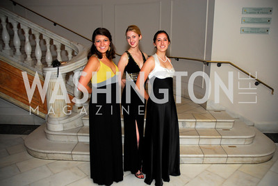 Nora Hajjar, Jessica Robbins, Deven Comen, Georgetown University Diplomatic Ball, April 8, 2011, Kyle Samperton