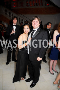 Jessica Chiang, Matt Davis, Georgetown University Diplomatic Ball, April 8, 2011, Kyle Samperton