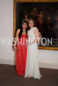 Dawn Chan, Audrey Atencio, Georgetown University Diplomatic Ball, April 8, 2011, Kyle Samperton