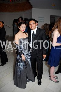 Andi Rose, Joseph Balinas, Georgetown University Diplomatic Ball, April 8, 2011, Kyle Samperton
