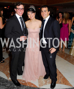John Mazzara, Yeina Chi, Geroge Chedid, Georgetown University Diplomatic Ball, April 8, 2011, Kyle Samperton