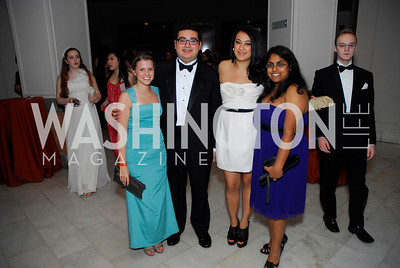 Kirsten Hardy, Carlos Reyes, Alexandra McCue, Rosemary Yogiaveetil, Georgetown University Diplomatic Ball, April 8, 2011, Kyle Samperton