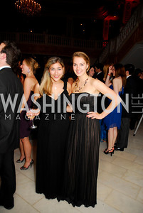 Laura Napoli, Masha Gonchorova, Georgetown University Diplomatic Ball, April 8, 2011, Kyle Samperton