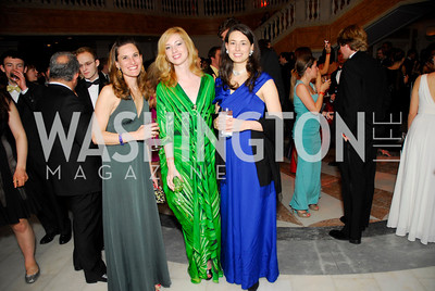 Kristin Pisani, Kaleta Blaffer, Emiy Manice, Georgetown University Diplomatic Ball, April 8, 2011, Kyle Samperton