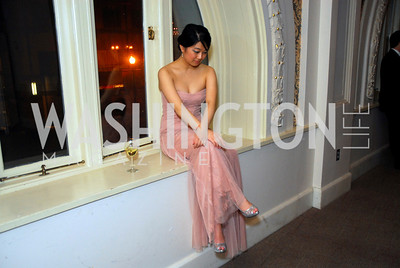 Yeina Chi, Georgetown University Diplomatic Ball, April 8, 2011, Kyle Samperton