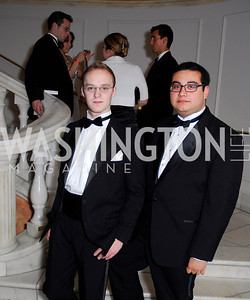 Josh Mogil, Carlos Reyes, Georgetown University Diplomatic Ball, April 8, 2011, Kyle Samperton