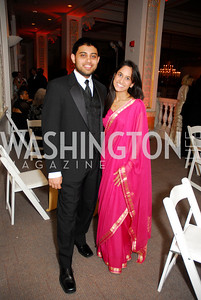 Kareen Preiva, Shreesh Prasad Georgetown University Diplomatic Ball, April 8, 2011, Kyle Samperton