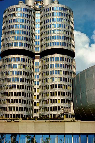 BMW building in Olympic Park - Munich, Germany