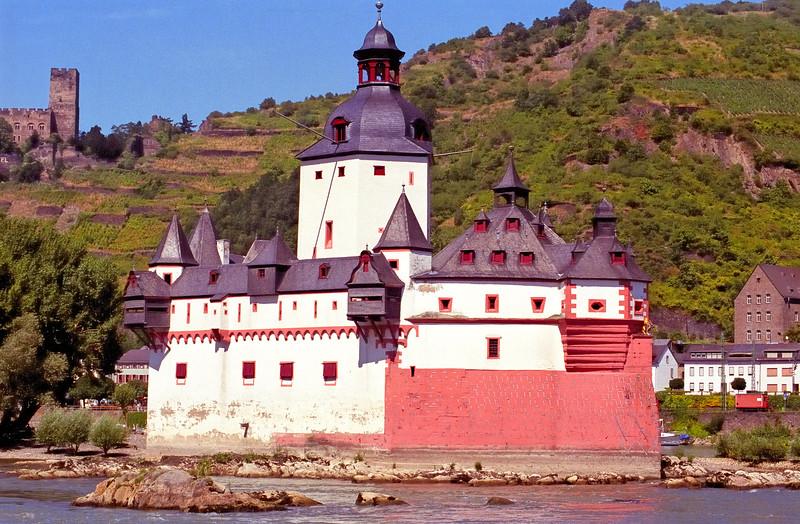 Castle - Rhine River - Germany
