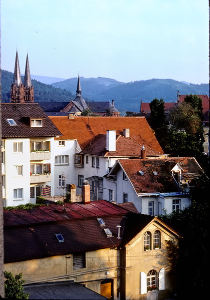 Rooftop view - Freiburg, Germany